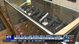 Red Flag Law, other new laws go into effect Oct. 1
