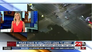 Police chase in Hollywood leads to arrest