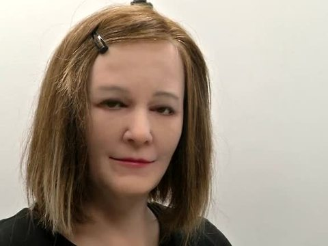 Emotionally intelligent robot comes to life