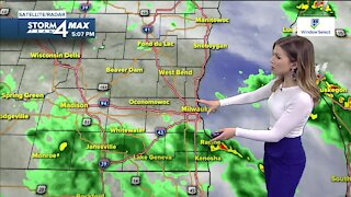 Showers continue into the weekend