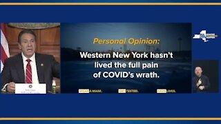 Cuomo discusses WNY COVID crisis