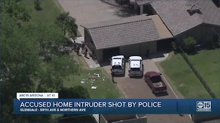 Man seriously injured after being shot by police during burglary call in Glendale