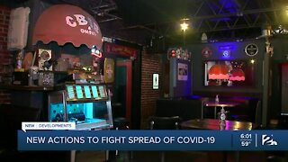 New limits to combat spread of COVID-19