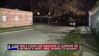 Detroit police looking for suspects in carjacking on city's west side