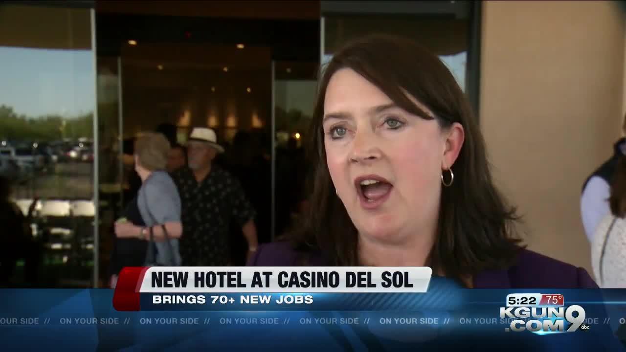 New hotel opens at Casino Del Sol