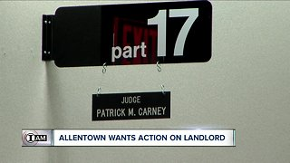 I-TEAM: Warrant issued for Allentown landlord's arrest (5 p.m.)