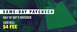 Same-day paychecks: Good or bad idea?