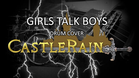 Girls Talk Boys Drum Cover