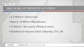 Florida voters case ballots