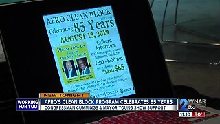 Afro's Clean Block Program celebrates 85 years on Tuesday night