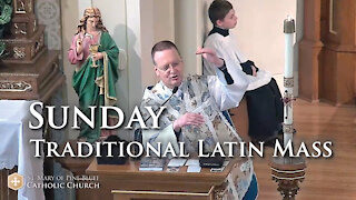 Sermon for Sunday After the Ascension, May 16, 2021 (TLM)