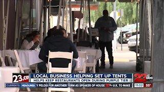 A local businessman helps restaurants adjust to purple tier