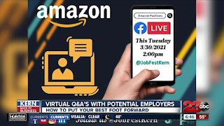KERN BACK IN BUSINESS: Virtual Q&A's with potential employers