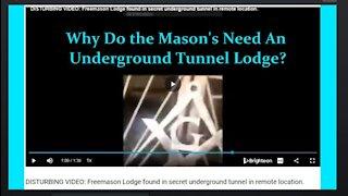DISTURBING VIDEO: Freemason Lodge Found in Secret Underground Tunnel in Remote Location