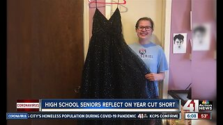 High school seniors reflect on year cut short