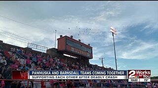 Schools come together to support family in car accident