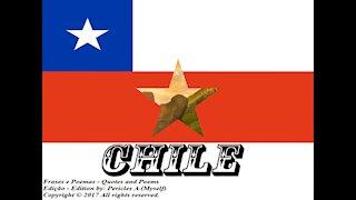 Bandeiras e fotos dos países do mundo: Chile [Frases e Poemas]