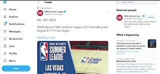 NBA Summer League returning to Las Vegas for 2021