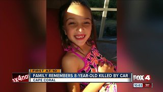 Family remembers 8-year-old killed by car
