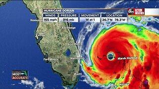 Tracking Hurricane Dorian | 9 a.m. update