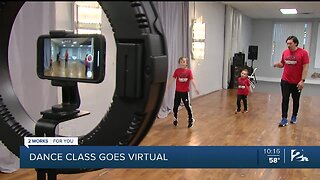 Dance Class Goes Virtual