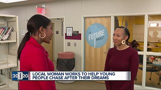 Local woman works to help young people chase after their dreams