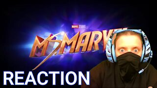 """First Time Ms Marvel Trailer Reaction """"We Are Comics"""""""