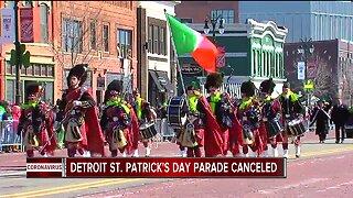 Detroit St. Patrick's Day Parade Canceled