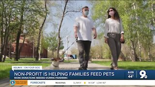 Nonprofit is helping families feed their pets during the pandemic