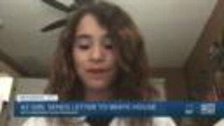 Arizona girl sends letter to White House