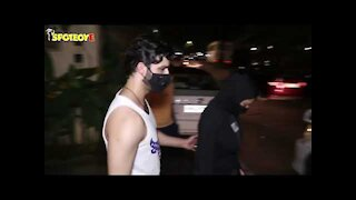 Sushmita Sen and beau Rohman Shawl get snapped as they step out in the city | SpotboyE