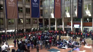 SOUTH AFRICA - Johannesburg - Wits Protest (g5F)