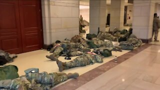 Wisconsin National Guard troops mobilize to D.C. to support inauguration security