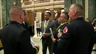 Firefighters fight for mental health help in Wisconsin