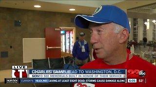 37th Honor Flight Boards 23 Veterans