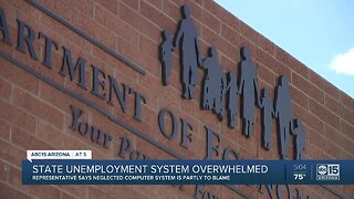 State unemployment system overwhelmed