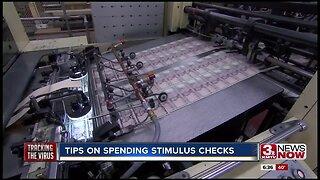 Tips on spending stimulus checks