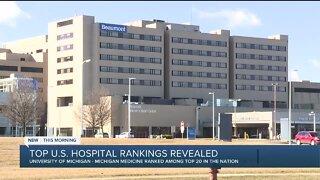 Michigan hospitals rank among top U.S. hospitals