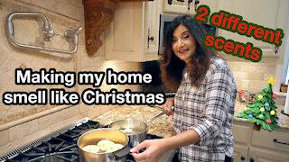 Make your home smell like Christmas