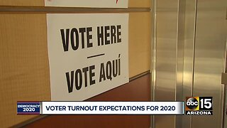 Record-breaking turnout expected in Arizona for 2020 presidential election