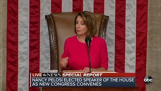 ABC Special Report: Nancy Pelosi elected Speaker of the House as new congress convenes