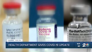Health department gives COVID-19 update