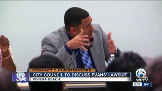 City council to discuss Evan's lawsuit