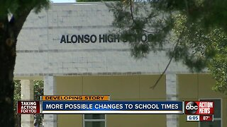 Bell times may change at certain Hillsborough County schools, again