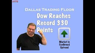 Dow Reaches Record - Dallas Trading Floor #175