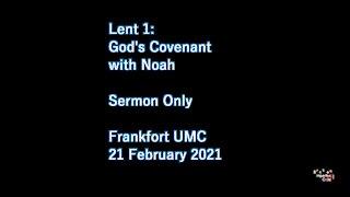 Lent 1: God's Covenant with Noah