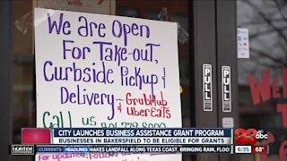 City launches business assistance grant program