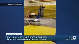 Navajo Nation announces curfew amid coronavirus