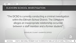 """Douglas County Sheriff's Office: """"Inappropriate relationship"""" between staff and former student"""