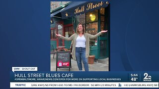 """Hull Street Blues Cafe says """"We're Open Baltimore!"""""""